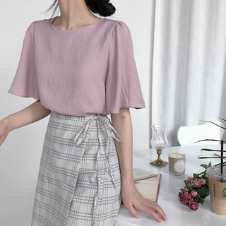 ANGEL PINK BLOUSE (ONE COLOR)
